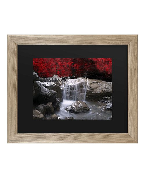 """Trademark Global Philippe Sainte-Laudy Red Vison Matted Framed Art - 27"""" x 33"""""""