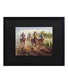 """Masters Fine Art Kentucky Derby Matted Framed Art - 15"""" x 20"""""""