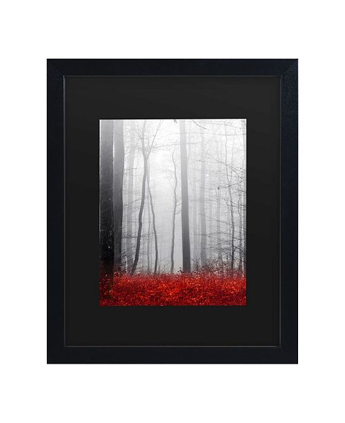 "Trademark Global Philippe Sainte-Laudy Little Red Carpet Matted Framed Art - 15"" x 20"""