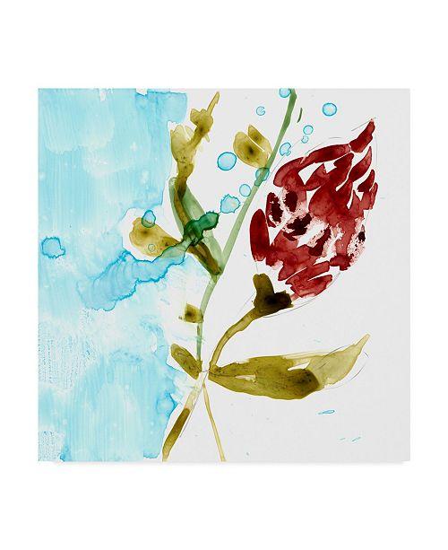 "Trademark Global Jennifer Goldberger Tropical Display VII Canvas Art - 15"" x 20"""