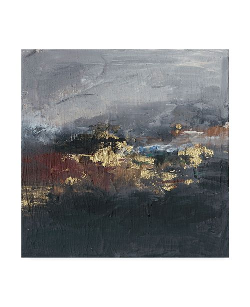 "Trademark Global Joyce Combs Mountains in the Mist II Canvas Art - 27"" x 33"""
