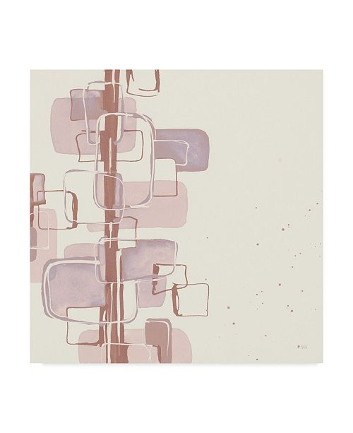 "Trademark Global Chris Paschke Mind Games I Blush Canvas Art - 15"" x 20"""