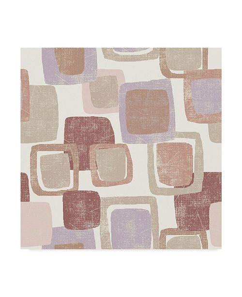 "Trademark Global Wild Apple Portfolio Blocks Blush Canvas Art - 27"" x 33"""