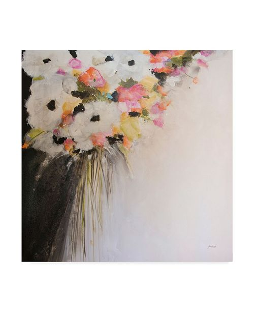 "Trademark Global Jan Griggs Saturdays Flowers Canvas Art - 27"" x 33"""
