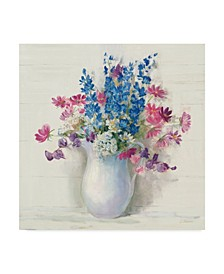 "Carol Rowan Ironstone Bouquet Ii Bright Canvas Art - 15"" x 20"""