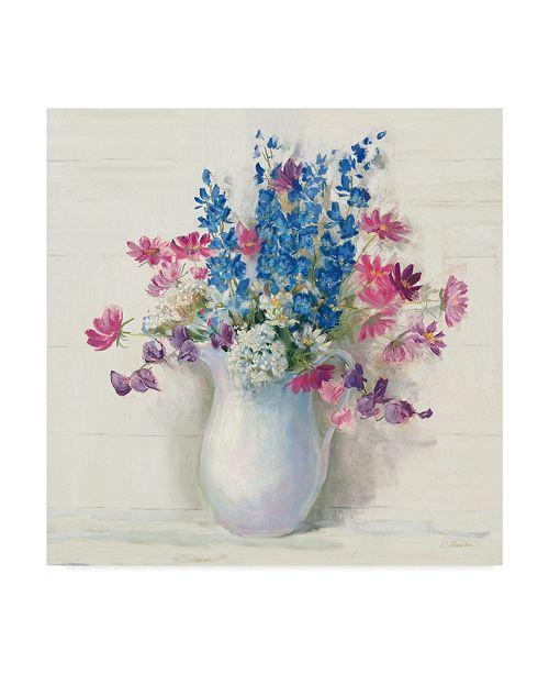 "Trademark Global Carol Rowan Ironstone Bouquet Ii Bright Canvas Art - 15"" x 20"""