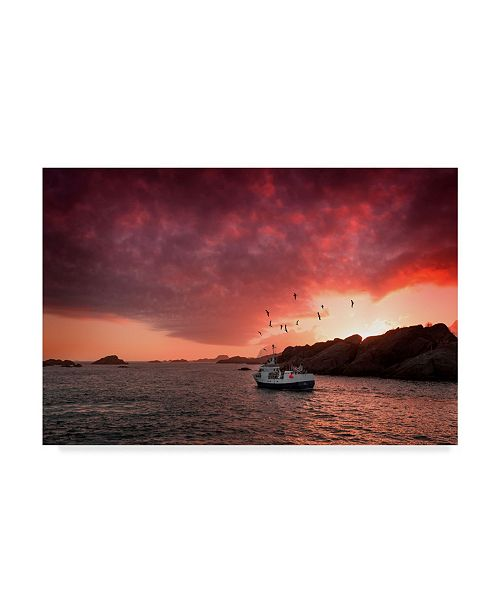 """Trademark Global Philippe Sainte-Laudy Come and See Me Canvas Art - 20"""" x 25"""""""