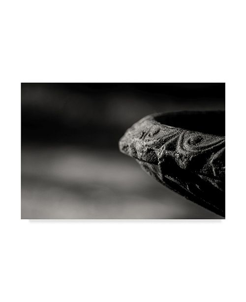 "Trademark Global Pixie Pics Stone Fountain Edge Canvas Art - 20"" x 25"""