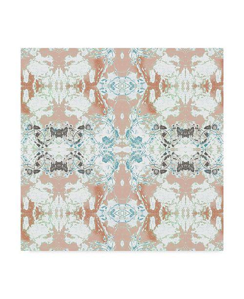"Trademark Global Jennifer Goldberger Pretty Mirror III Canvas Art - 20"" x 25"""