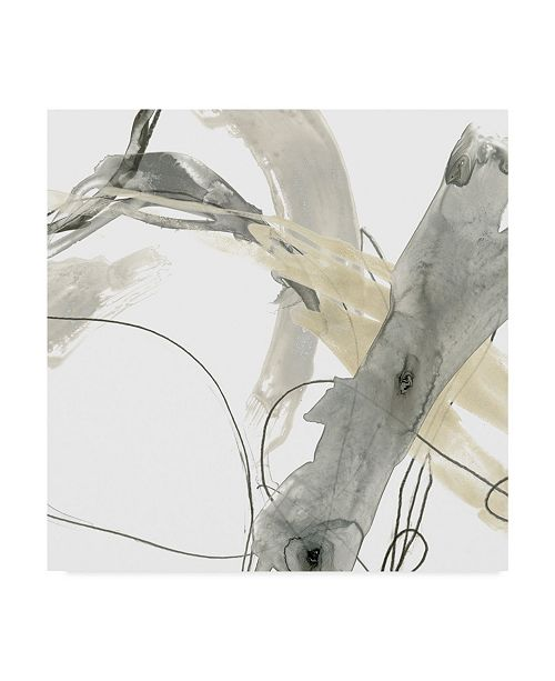 "Trademark Global June Erica Vess Monochrome Momentum III Canvas Art - 20"" x 25"""