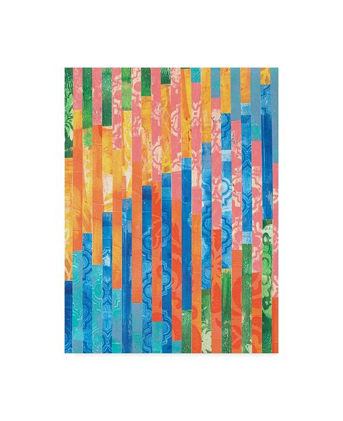 "Trademark Global Regina Moore Quilted Monoprints V Canvas Art - 20"" x 25"""