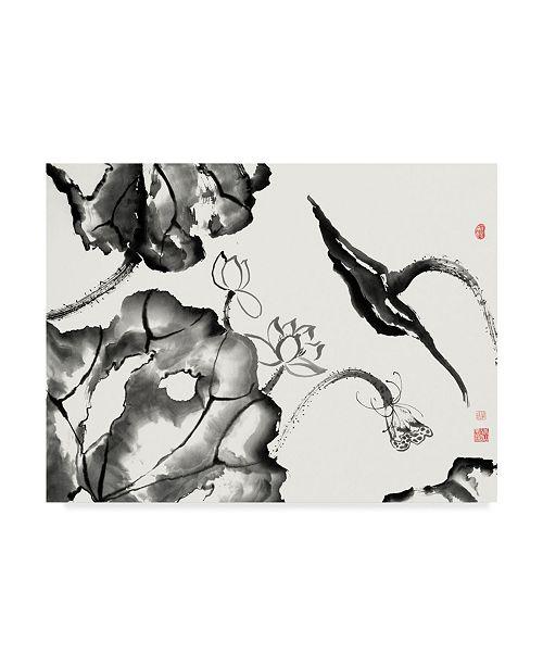 "Trademark Global Nan Rae Lotus Study II Canvas Art - 20"" x 25"""