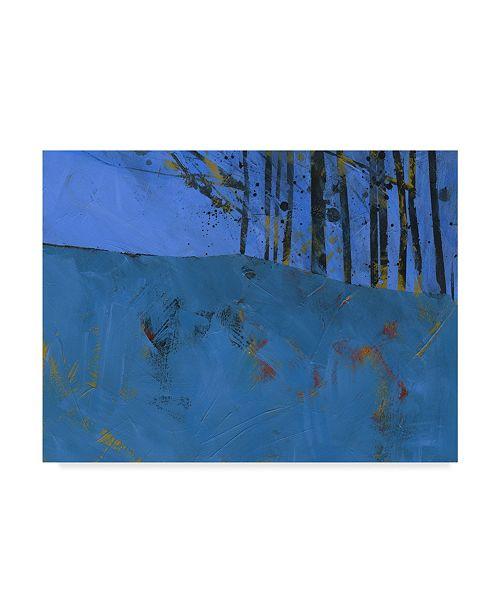 "Trademark Global Paul Bailey Token Trees Canvas Art - 20"" x 25"""