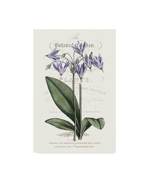 "Trademark Global Vision Studio Flower Garden Varietals I Canvas Art - 20"" x 25"""