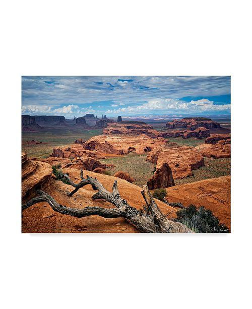 "Trademark Global David Drost Valley Beauty VII Canvas Art - 20"" x 25"""