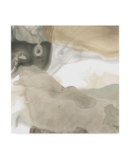 "Trademark Global June Erica Vess Tectonic Drift IV Canvas Art - 15"" x 20"""