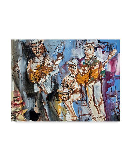 """Trademark Global Erin Mcgee Ferrell New Orleans Musicians I Canvas Art - 20"""" x 25"""""""