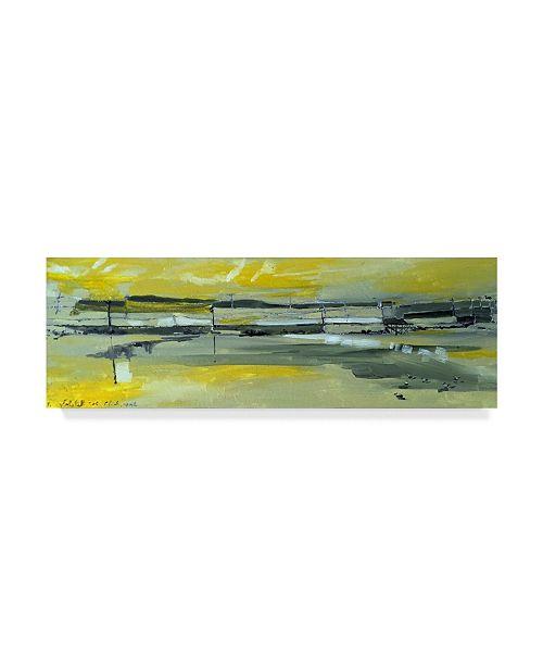 "Trademark Global Erin Mcgee Ferrell Martins Dock I Canvas Art - 37"" x 49"""