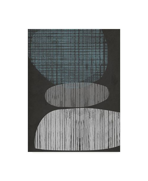 "Trademark Global Jennifer Goldberger Resting Shapes II Canvas Art - 37"" x 49"""