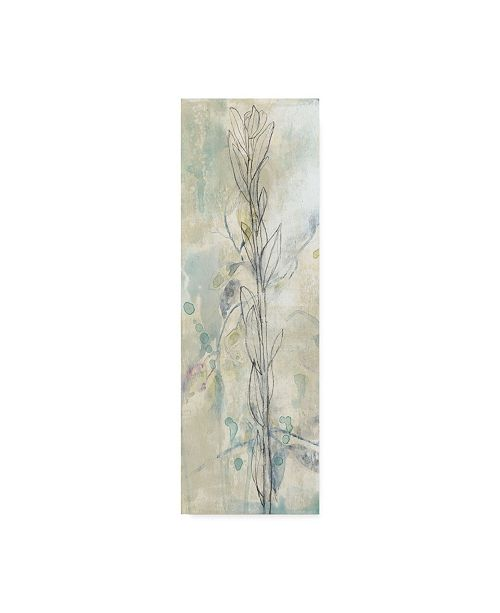 "Trademark Global Jennifer Goldberger Contour Stem I Canvas Art - 37"" x 49"""