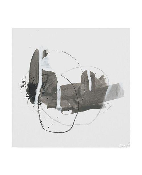 "Trademark Global June Erica Vess Gray Scale III Canvas Art - 15"" x 20"""