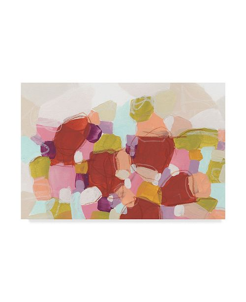 "Trademark Global June Erica Vess Color Cartography I Canvas Art - 20"" x 25"""