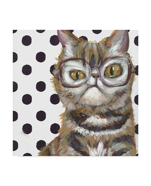 "Trademark Global Jennifer Rutledge Dapper Animal IX Canvas Art - 15"" x 20"""