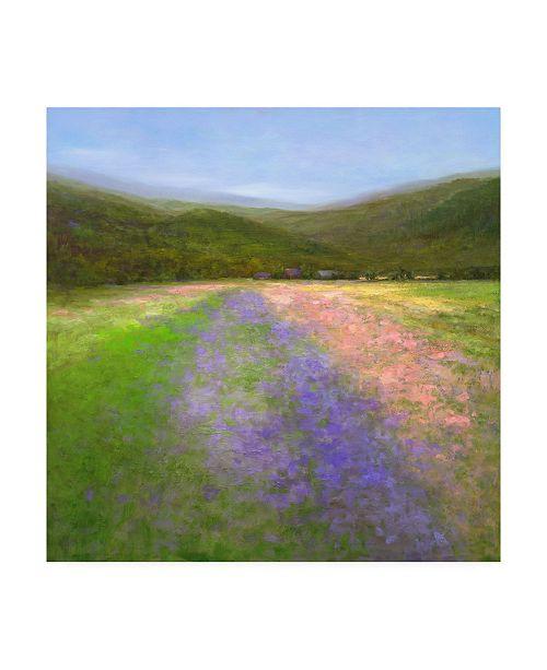 "Trademark Global Sheila Finch Flowers of Half Moon Bay I Canvas Art - 27"" x 33"""
