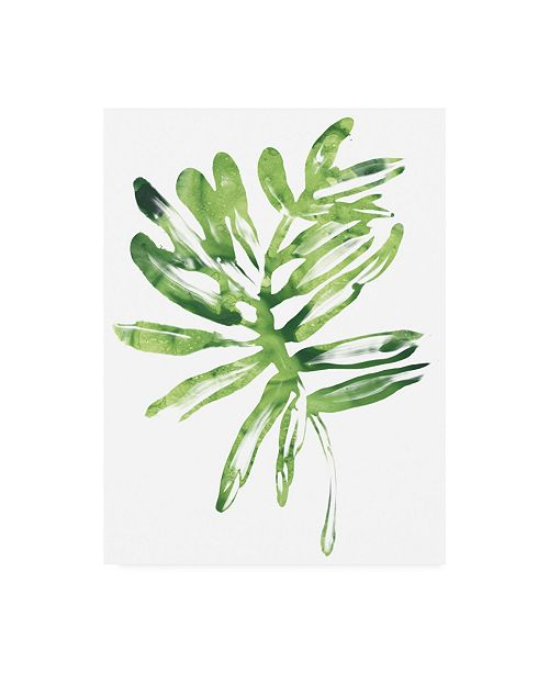 "Trademark Global June Erica Vess Emerald Tropics III Canvas Art - 37"" x 49"""