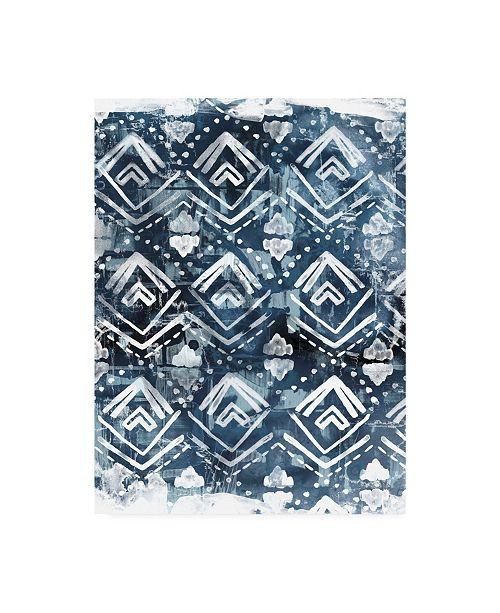 "Trademark Global June Erica Vess Indigo Extraction II Canvas Art - 20"" x 25"""