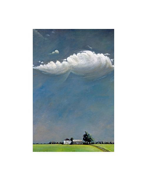 "Trademark Global Steven Romm Watermill Canvas Art - 37"" x 49"""