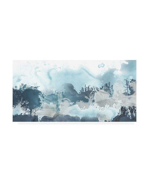 "Trademark Global June Erica Vess Forest Sea II Canvas Art - 15"" x 20"""