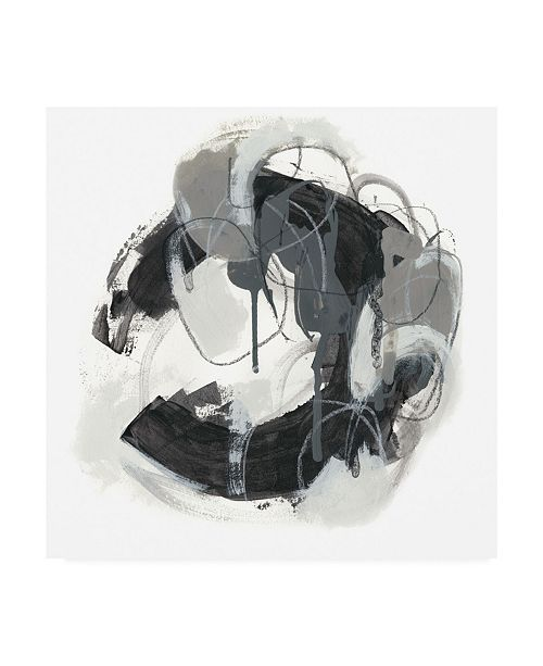 "Trademark Global June Erica Vess Obsidian Arc I Canvas Art - 27"" x 33"""