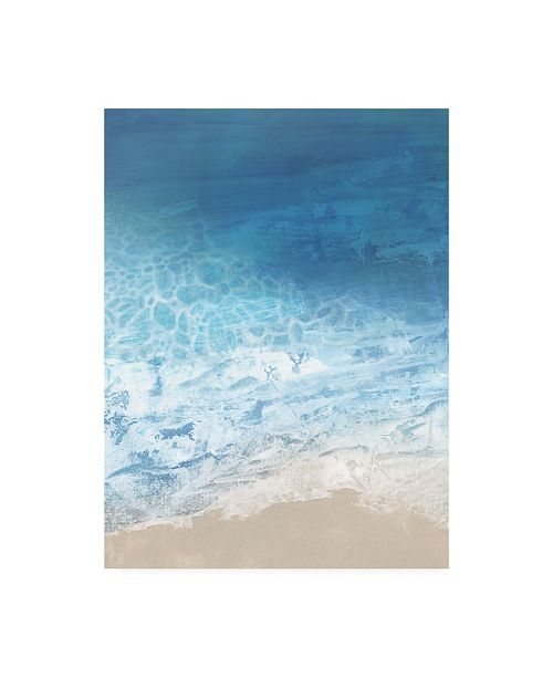 """Trademark Global Victoria Borges Ebb and Flow I Canvas Art - 20"""" x 25"""""""