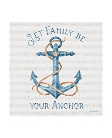 "Lisa Audit Nautical Life IV Canvas Art - 27"" x 33"""