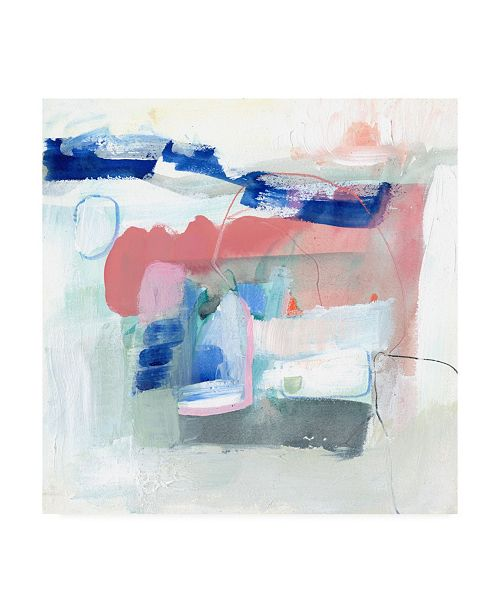 "Trademark Global Victoria Borges Procida IV Canvas Art - 15"" x 20"""