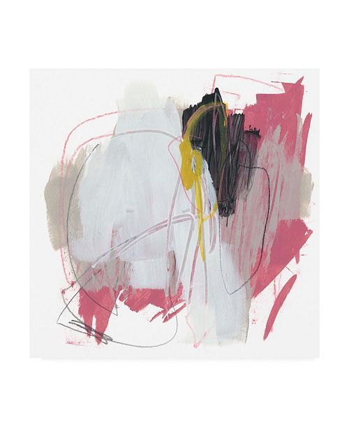 "Trademark Global June Erica Vess Symphony in Riffs IX Canvas Art - 27"" x 33"""