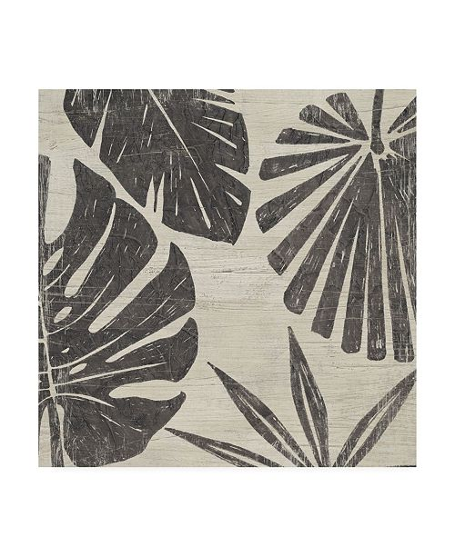 "Trademark Global June Erica Vess Tribal Palms II Canvas Art - 27"" x 33"""