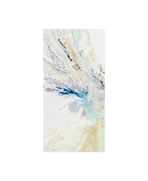 "Trademark Global Jennifer Gardner Seafoam Neutral II Canvas Art - 20"" x 25"""