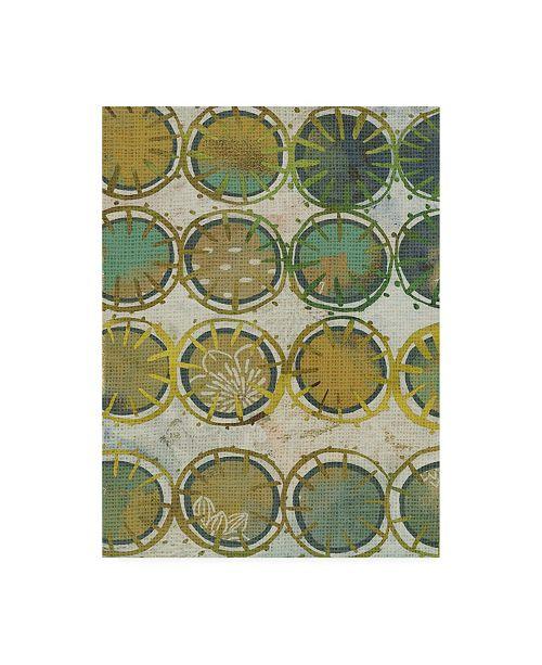"Trademark Global Chariklia Zarris Jadeite II Canvas Art - 20"" x 25"""