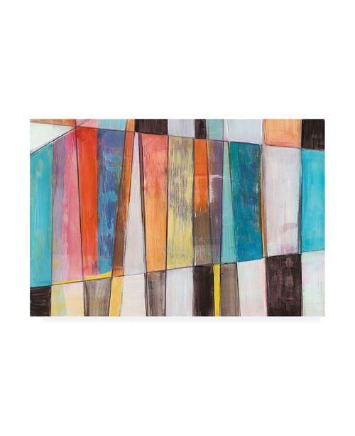 "Trademark Global Jodi Fuchs Rhythm and Hues I Canvas Art - 37"" x 49"""