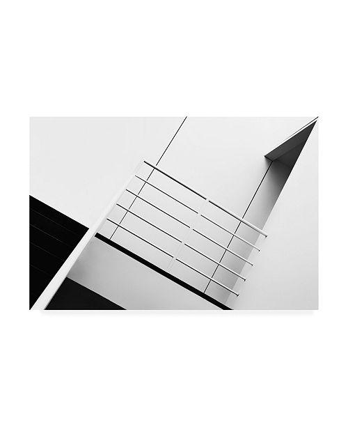 """Trademark Global Jeroen Van De Welcome to the 3rd Floor Canvas Art - 37"""" x 49"""""""