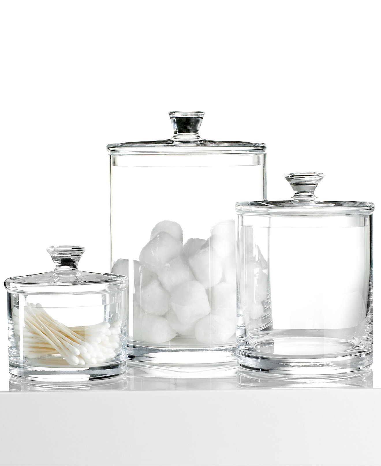 Hotel Collection Glass Jar Collection Only At Macy S Bathroom Accessories Bed Bath Macy S