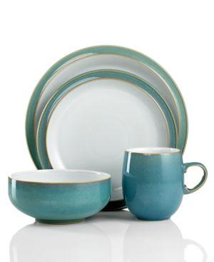 Denby Dinnerware, Azure 4-Piece Place Setting