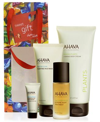 Receive a FREE Moisturizer & Gift Bag with $55 Ahava purchase