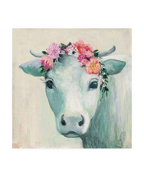 "Trademark Global Julia Purinton Festival Girl II Canvas Art - 36.5"" x 48"""