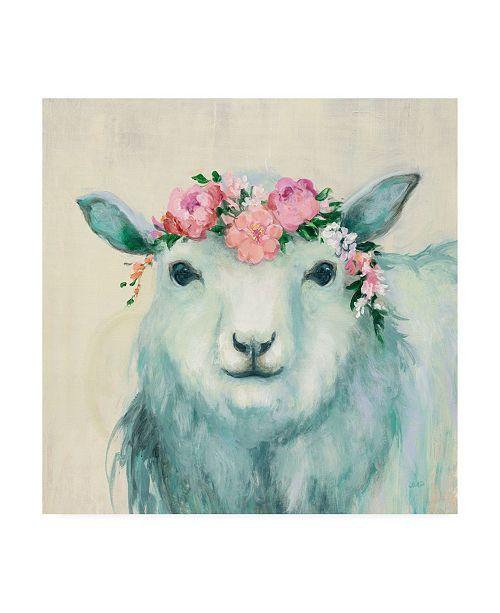 "Trademark Global Julia Purinton Festival Girl V Canvas Art - 15.5"" x 21"""