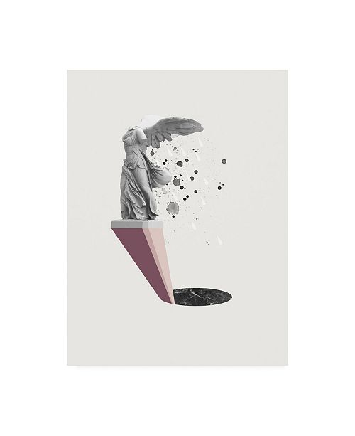"Trademark Global Design Fabrikken Tears of Nike Fabrikken Canvas Art - 15.5"" x 21"""