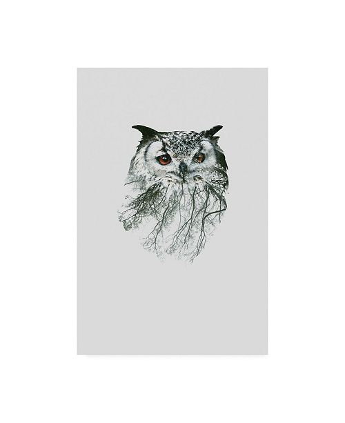 """Trademark Global Clean Nature Eye of the Forest II Canvas Art - 15.5"""" x 21"""""""