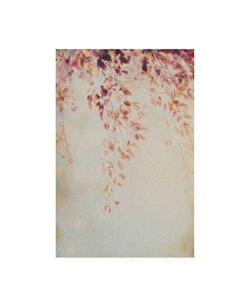 "Trademark Global PhotoINC Studio Fall Pink Branches II Canvas Art - 19.5"" x 26"""